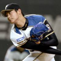 Fighters, Swallows settle for tie in Otani's NPB piching debut