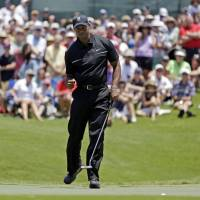 Garcia, Tiger locked in duel at halfway point of TPC