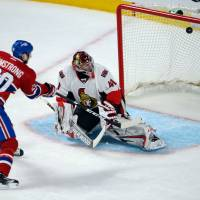 Goalie Anderson holds firm as Senators eliminate Canadiens