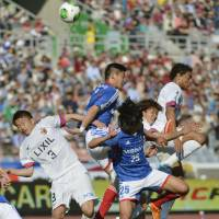 Fabio secures draw for Marinos against Antlers