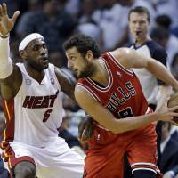 Bulls take Game 1 from Heat