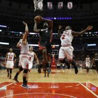 Bulls get rough, Heat get tough