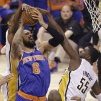 Knicks fall behind 3-1 in series