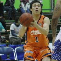 Sad story: Hometown favorite Taishiro Shimizu's departure after last season signaled the beginning of the end for the Miyazaki Shining Suns. | MIYAZAKI SHINING SUNS/BJ-LEAGUE