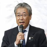 In a tough spot: JOC president Tsunekazu Takeda is facing major challenges as the clock ticks down on the vote to decide the host of the 2020 Olympic Games. | KYODO