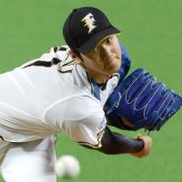Fighters rookie Otani makes solid impression in mound debut