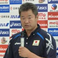 Trail blazer: American Gary Sato, the new coach of Japan's men's national volleyball team, is the first foreigner ever to hold the position. | KYODO
