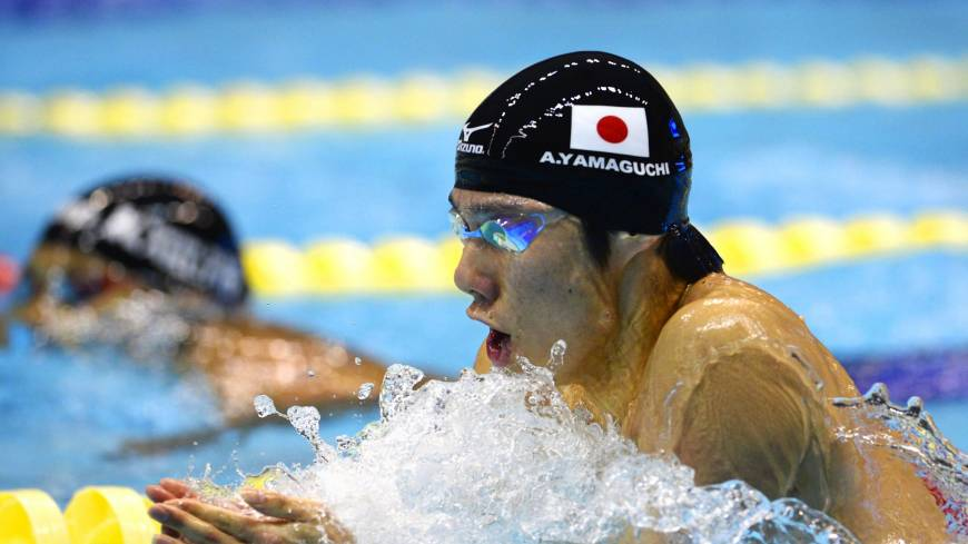 Blunt edge: Akihiro Yamaguchi admits he has lost some of his competitive edge since breaking the 200-meter breaststroke world record in September last year.