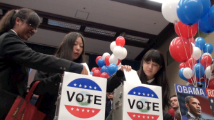 [VIDEO] Japanese high school students 'vote' for Obama