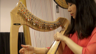 [VIDEO] Happiness from the harp