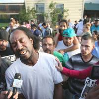 Trending: Rescuer Charles Ramsey speaks to reporters in Cleveland on Monday. | AP