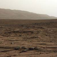 New frontier: NASA's Mars rover Curiosity captured this general view of the surface of Mars on Jan. 27. | AFP-JIJI