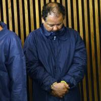 Taken: Ariel Castro is arraigned Thursday at Cleveland Municipal Court for the kidnapping of three women in the city. He faces charges over the abduction and rape of the three women he held in his home, one for over a decade. | AFP-JIJI