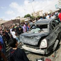 Deadly bomb strikes civilian area in Benghazi