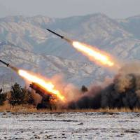 North Korea test-fires another short-range missile