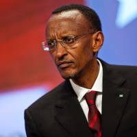 'Not me': Responding to Western criticism of his country's Congo policy, Rwandan President Paul Kagame says, 'I'm telling people to look at themselves in the mirror. They are the ones responsible for problems in Congo, not me.' | BLOOMBERG