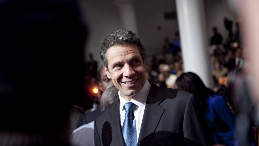 White House aspirations?: As Hillary Rodham Clinton, who ran for U.S. president in 2008, remains the Democratic Party's presumptive standard-bearer for a 2016 presidential run, New York Gov. Andrew M. Cuomo will only enter the race if she doesn't.