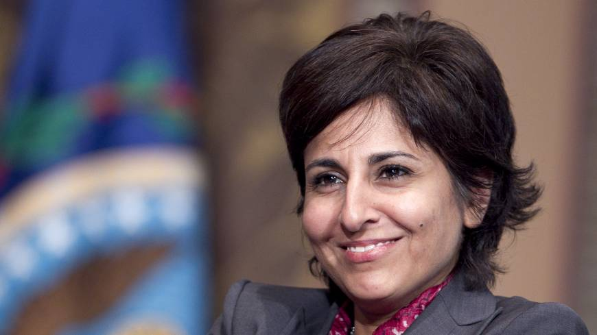 Unshackled: Neera Tanden, the 2008 Clinton campaign's policy director, has moved on to be the president of the Center for American Progress.