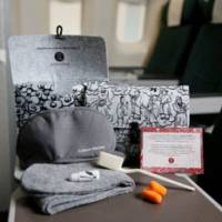 Visit Britain on British Airways; designer amenity kits on Cathay; discounts on Korean Air to Europe