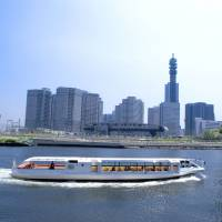 In addition to land transportation, journeys by sea are also available in Yokohama, and the Sea Bass offers regular ferry service with great views of the city. | YOKOHAMA CHINATOWN DEVELOPMENT ASSOCIATION, YOKOHAMA CONVENTION & VISITORS BUREAU