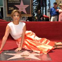 Jennifer Lopez gets 2,500th star on Hollywood Walk of Fame