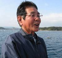 Looking ahead: Akira Harajo, whose family has farmed Ago Bay pearl oysters for more than 80 years, is now a leader in efforts to reverse the damage done by the industry.