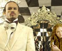 Eyed up: Heath Ledger and Lily Cole in 'The Imaginarium of Doctor Parnassus' | © IMAGINARIUM FILMS, INC. © 2009 PARNASSUS PRODUCTIONS INC. ALL RIGHTS RESERVED
