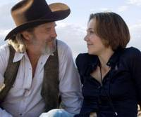 Future imperfect: Singer Bad Blake (Jeff Bridges) and journalist Jean Craddock (Maggie Gyllenhaal) get to know each other in 'Crazy Heart.' | © 2009 TWENTIETH CENTURY FOX