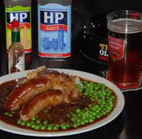 Pub grub: Bangers 'n' mash at Full Monty