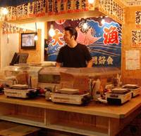 Fisherman's friend: The cheerful izakaya Uomaru serves up seafood in the heart of Ebisu Yokocho.