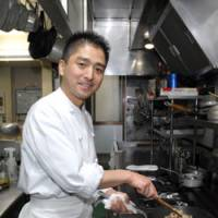 Adriatic inspirations: Chef Daisuke Nishiguchi serves his signature Della Laguna antipasti with each dinner at Volo Cosi.