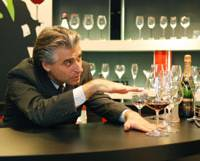 Of gobs and goblets: Wolfgang Angyal, president and CEO of Riedel Japan, waxes lyrical about how to properly enjoy a drink with the right glass. | YOSHITAKA DAZAI PHOTOS