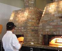 Square brick ovens: The pizzas at A16 are produced in authentic Neapolitan style.