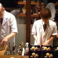 Giro Giro Hitoshina: The young kitchen crew produces a casual, unconventional and affordable take on Kyoto's traditional cuisine