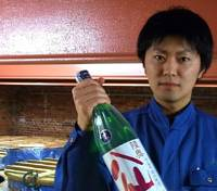 Nobuyuki Komai of Hachinohe Shuzo Ltd. in Aomori Prefecture, says 'If we sit back and do nothing, sake will simply fade away.'