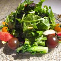 The Original Fresh Salad features delicious organic veggies