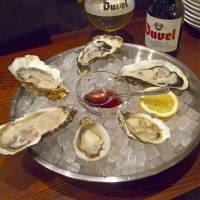 Shelling out: Fish House East serves oysters from Japan and overseas, with its tasting platters an ideal place to start. | ROBBIE SWINNERTON PHOTOS