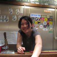 Service with a smile at Watering Hole in Yoyogi  | ROBBIE SWINNERTON