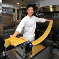 Pasta master: Convivio's Daisuke Tsuji returned from five years in Italy with dishes. | YOSHIAKI MIURA