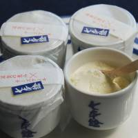 Japanese desserts with an alcohol kick