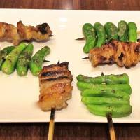 Classic skewered chicken and vegetables | ROBBIE SWINNERTON