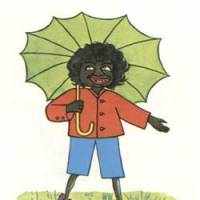 Through the ages: In the 1899 original, author Helen Bannerman drew 'Little Black Sambo' as an Indian boy.