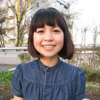 Living the gods: Ikumi Hirose, who has recently shot to fame as Butsuzo Girl (Buddhist-statue Girl).