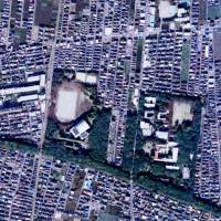 Fate up in the air: An aerial view of Chuo Park in Kodaira city, Tokyo. | YAHOO MAPS
