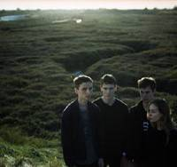 Strict standards: These New Puritans — Jack Barnett, Thomas Hein, George Barnett and Sophie Sleigh-Johnson — have produced what many critics say is the album of the year. | HARLEY WEIR PHOTO