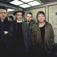 Here they stand: Travis (from left: Andy Dunlop, Fran Healy, Neil Primrose and Dougie Payne) will play this weekend's Hostess Club Weekender. The band has just released its seventh album, 'Where You Stand.'
