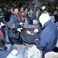 What's cooking?: The Yubari Fantastic International Film Festival's Stove Party offers a chance to meet other film buffs and filmmakers.