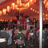 Sanno Festival features kendo, folk dancing