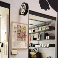 In store: Monocle Shop Tokyo offers select brand items as well as all back issues of the brand's magazine.