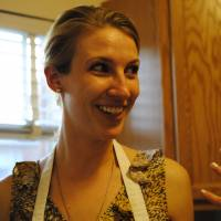 Healthy fun: Registered dietitian Sarah Waybright is the woman behind WhyFoodWorks, a healthful dinner party service, which aims to teach people how to balance flavor with nutrition. | THE WASHINGTON POST